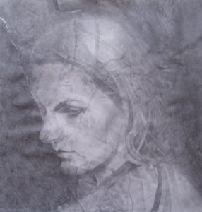 Mac Head | Graphite on paper 20 x 20 inch
